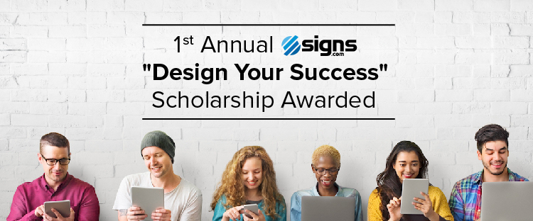 Design Your Success Scholarship Awarded-01