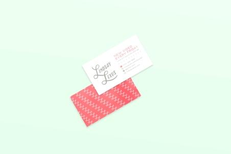 Business Card Mockup 27